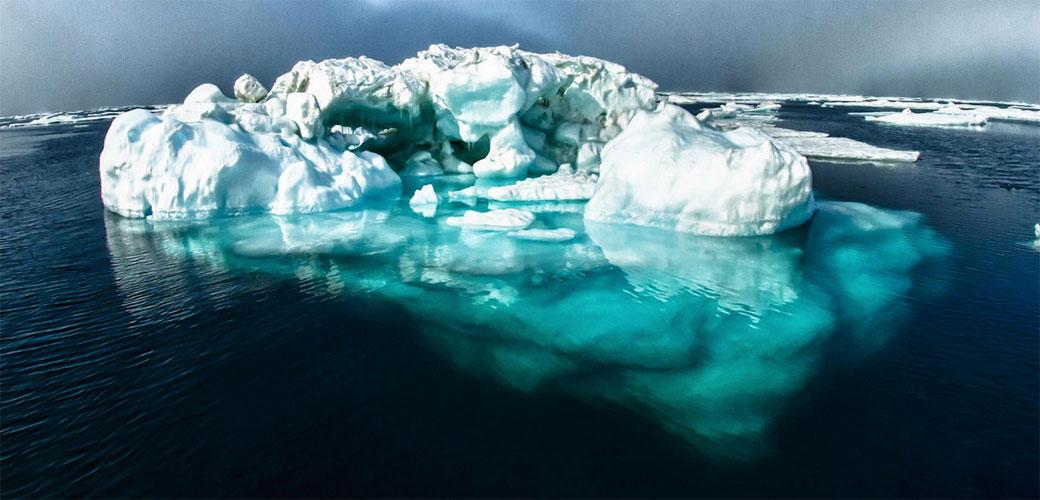 Slika: Najhladnije mesto na zemlji se otapa
