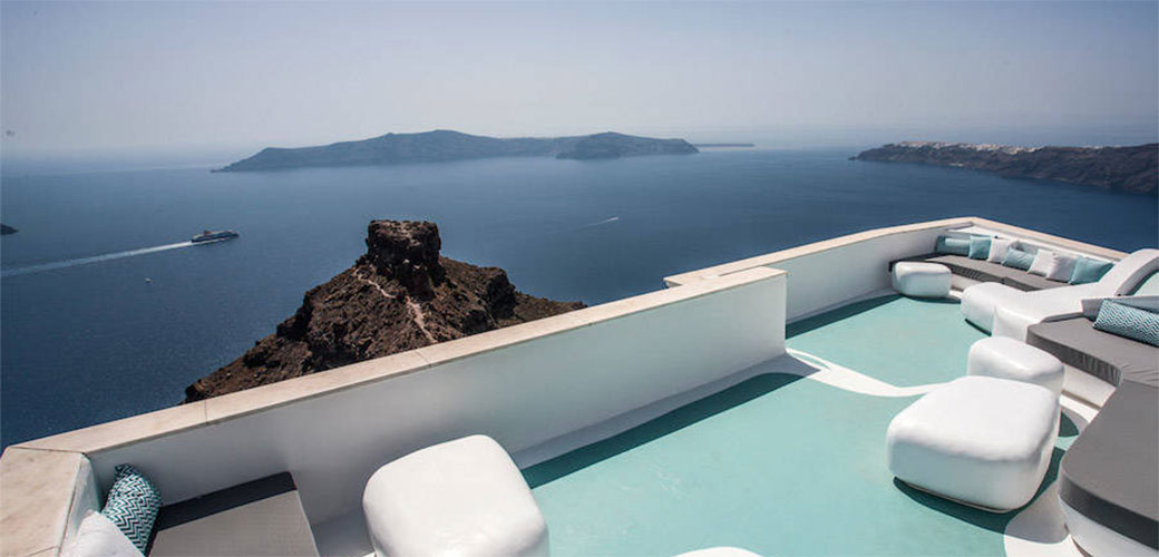 Slika: Santorini: Futuristički hotel