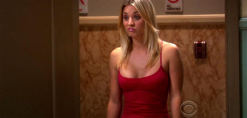 Bizarna fotka Penny iz the Big Bang Theory