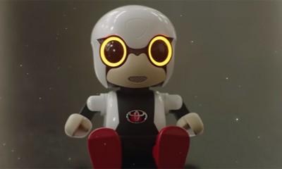 Stiže Toyota robotić Kirobo Mini  %Post Title