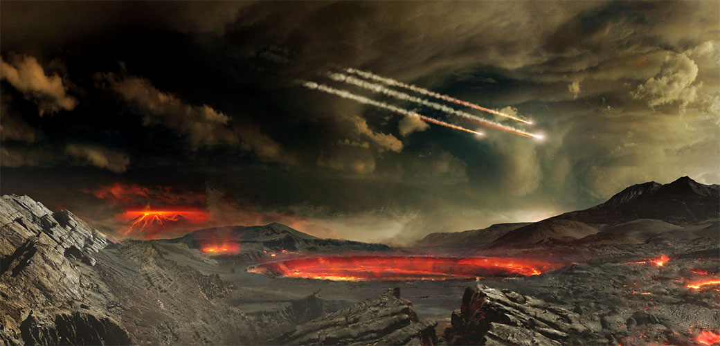 Slika: Asteroid će pogoditi Zemlju