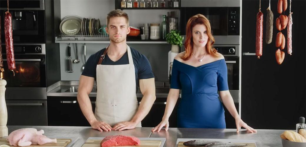 Slika: Vrlo seksi reklama bez trunke golotinje
