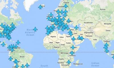 Mapa sa WiFI šiframa na aerodromima širom sveta  %Post Title