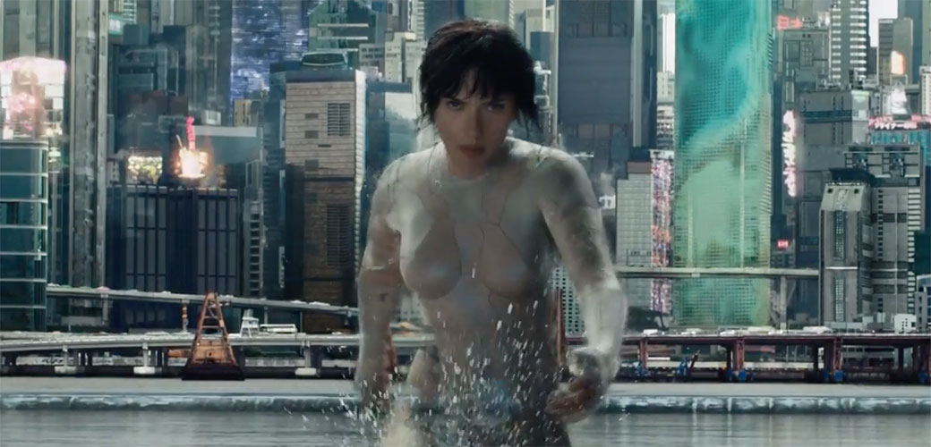 Novi tizer za Ghost in the Shell sa  Scarlett Johansson