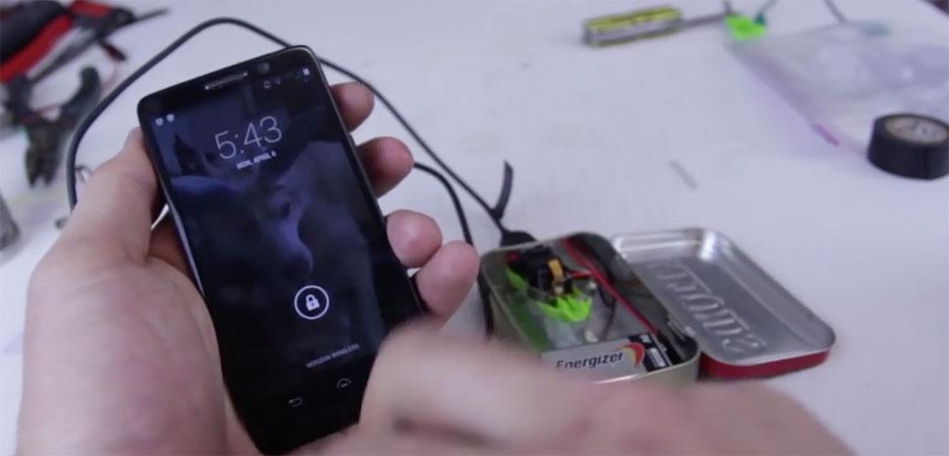 Kako da sami napravite punjač za telefon