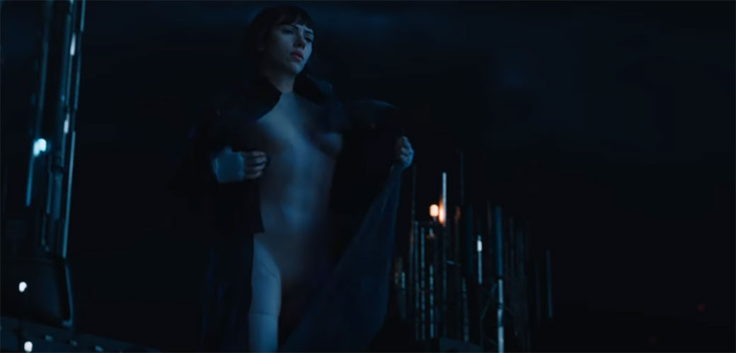 Prvi trejler za Ghost in the Shell
