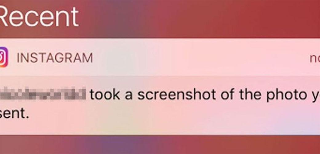 Instagram upozorava kada napravite SCREENSHOT