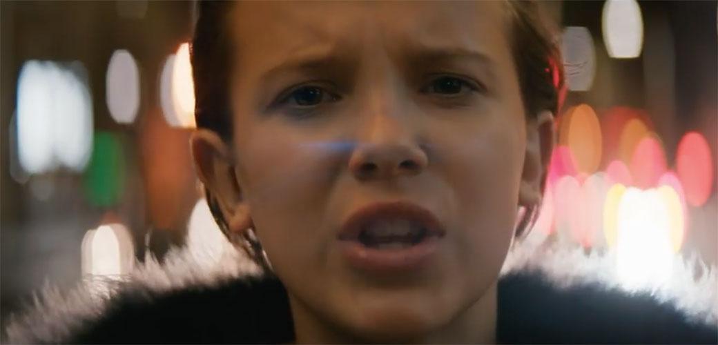Eleven iz Stranger Things u spotu