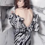 Lily Collins je super zgodna