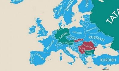 Mapa sveta po drugom jeziku  %Post Title