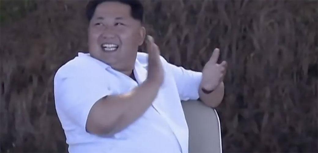 Slika: Evo šta je smešno Kim Jong Unu