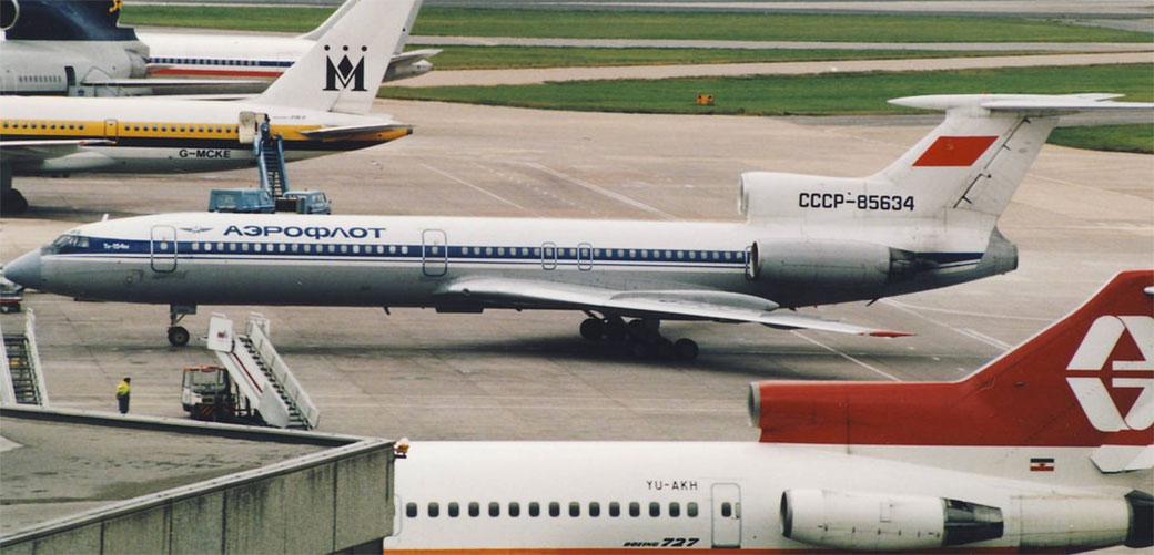 Tupoljev TU-154 je verovatno najgori avion ikada