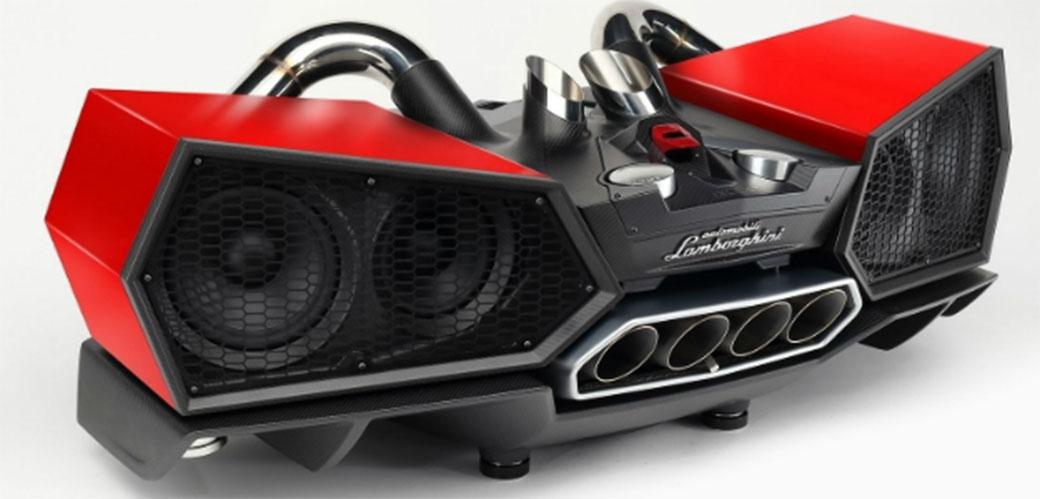 Lamborghini sada ima i zvučnike