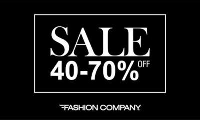 Sezonsko sniženje u Fashion Company prodavnicama