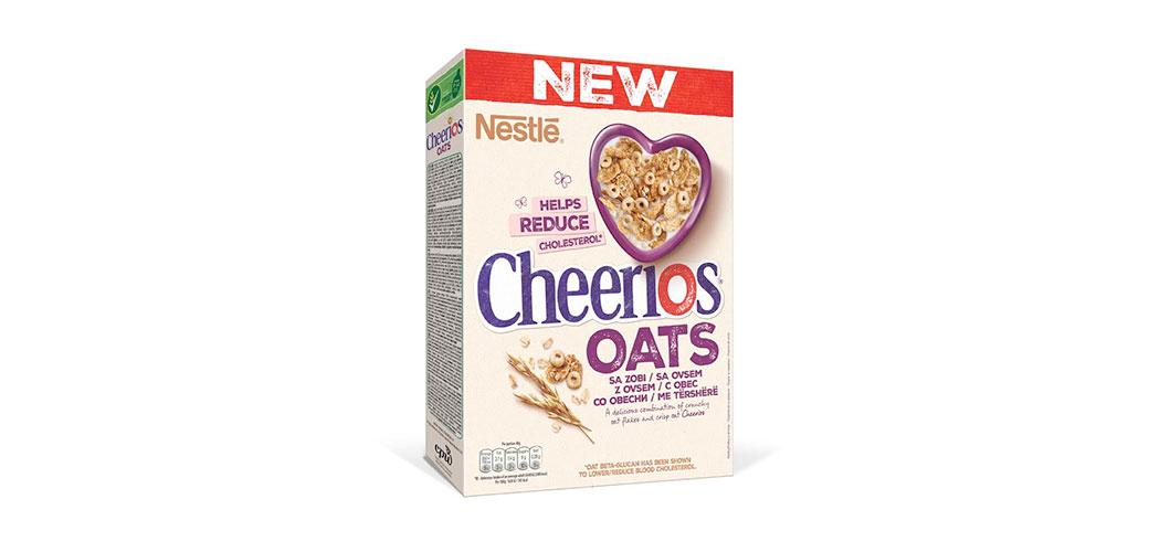 Nestlé predstavio nove Cheerios Oats