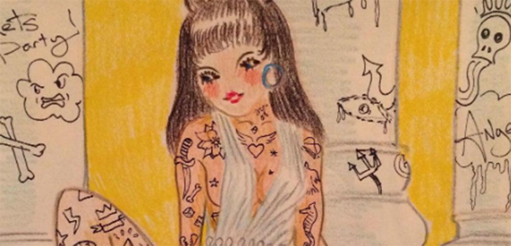 Erotska utopija na ludim ilustracijama