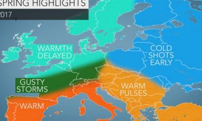 Vremenska prognoza za proleće 2017.
