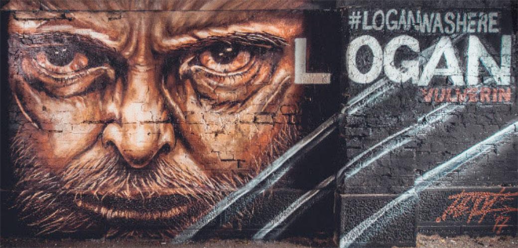 Mural posvećen najpoznatijem mutantu osvanuo u Beogradu