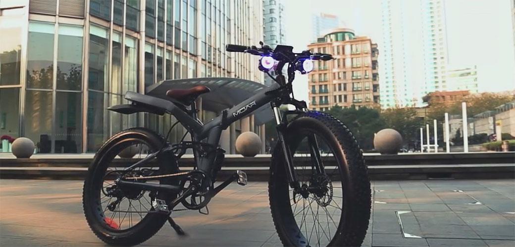 Slika: Električni bicikl koji se sklapa