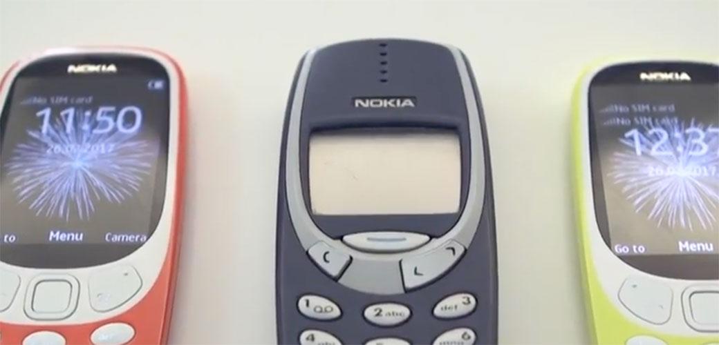 Slika: Nokia 3310 se vraća