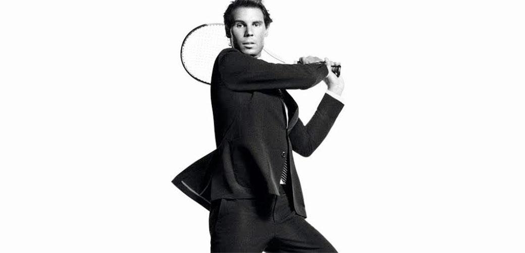 Slika: Rafael Nadal u prolećnoj kampanji za Tommy Hilfiger