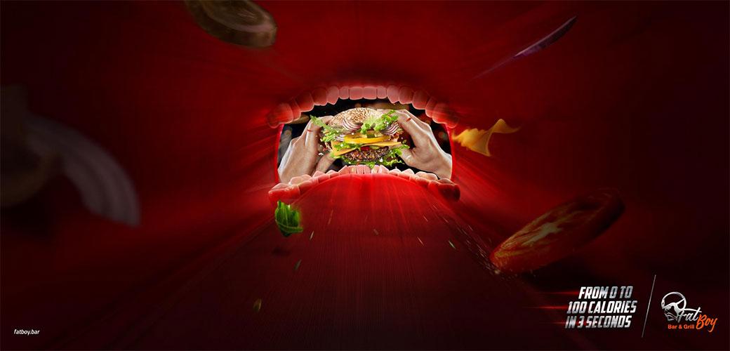 Slika: Reklama samo za mnogo gladne