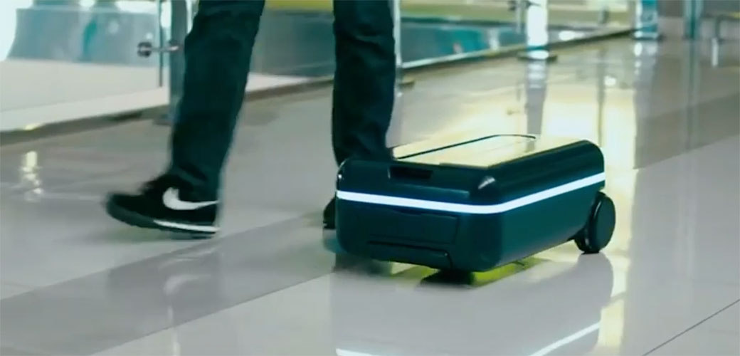 Slika: Kofer koji ide za vama