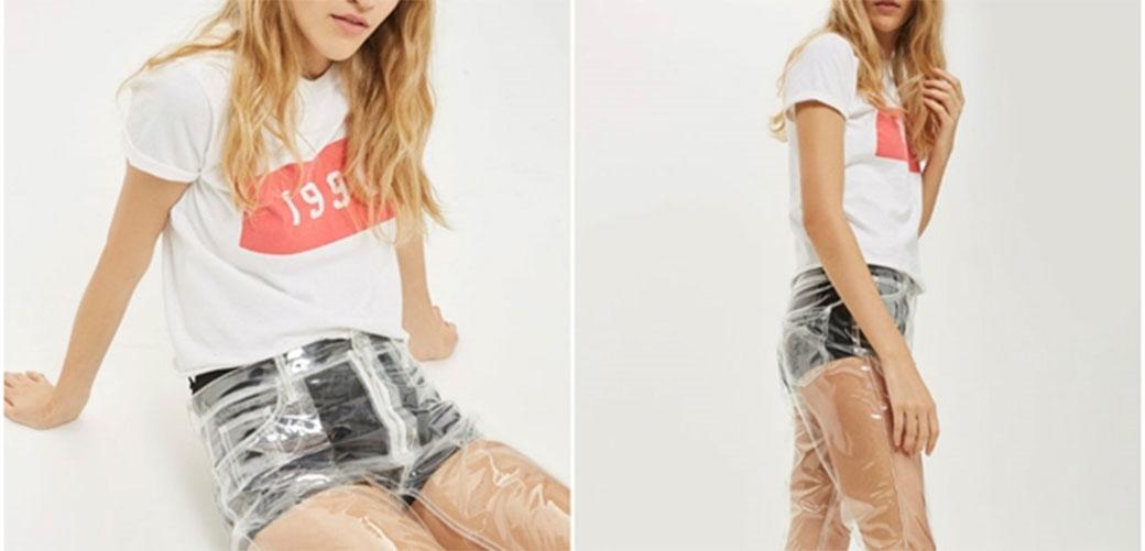 Slika: Topshop prodaje providne pantalone