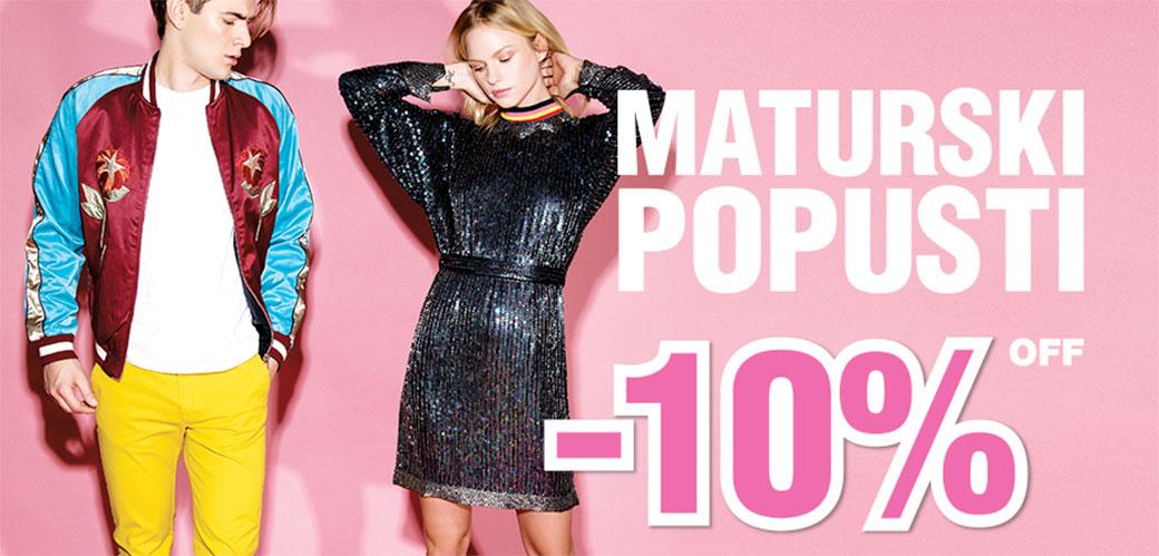 Slika: Maturski popusti u Fashion Company