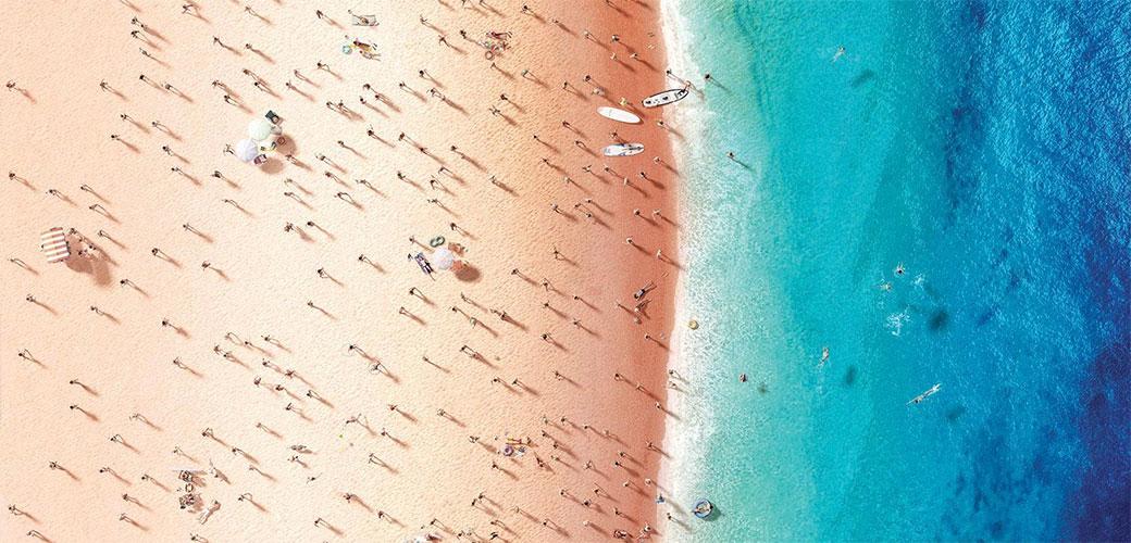 Niko ne voli gužvu na plaži