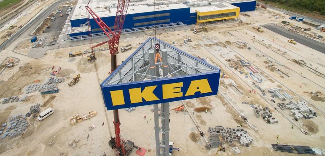 Postavljen IKEA toranj u Beogradu