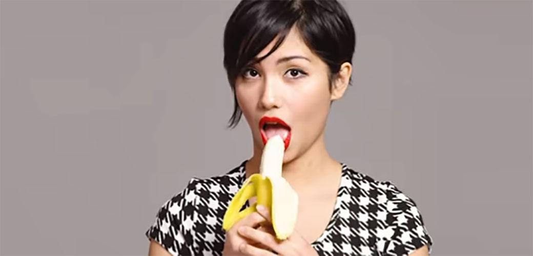 Kako da zavodljivo pojedete bananu
