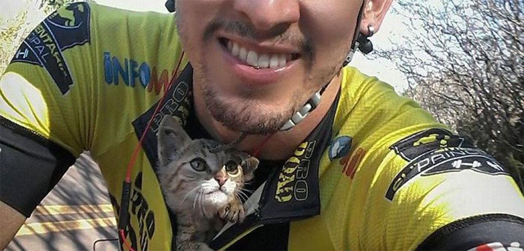 Kako se maca zahvalila za spašavanje