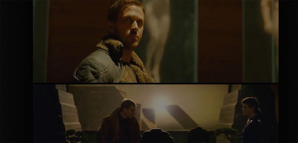 Blade Runner: Poređenje kadrova