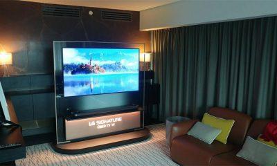 LG predstavio remek-delo Wallpaper OLED TV