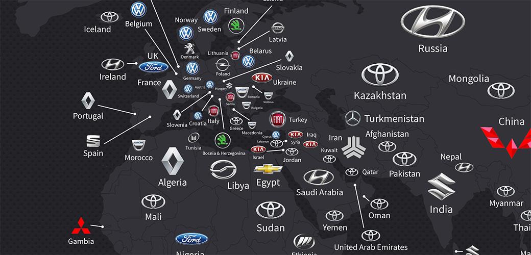 Koji automobili se najviše prodaju širom sveta?