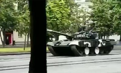 Kako se ne vozi tenk