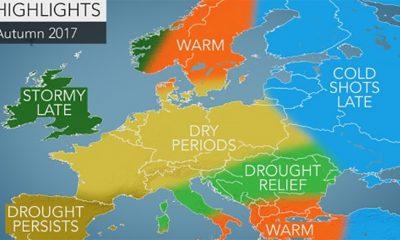 Dugoročna vremenska prognoza za jesen 2017.  %Post Title