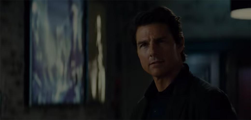 Tom Cruise pao na snimanju