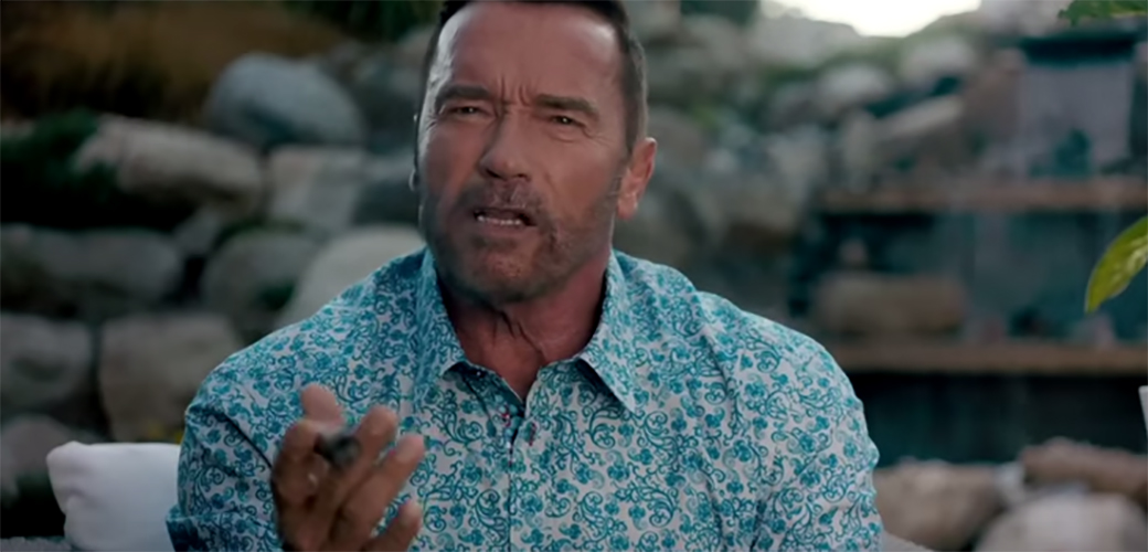 Arnold Schwarzenegger u komediji
