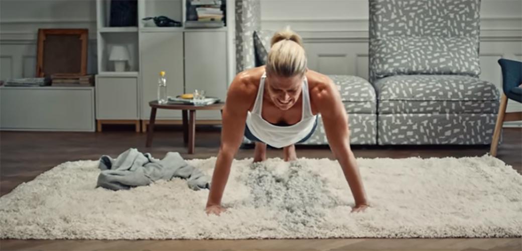 Genijalna reklama za IKEA katalog
