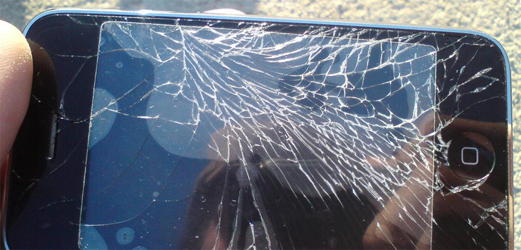 Slika: Staklo koje se samo popravlja