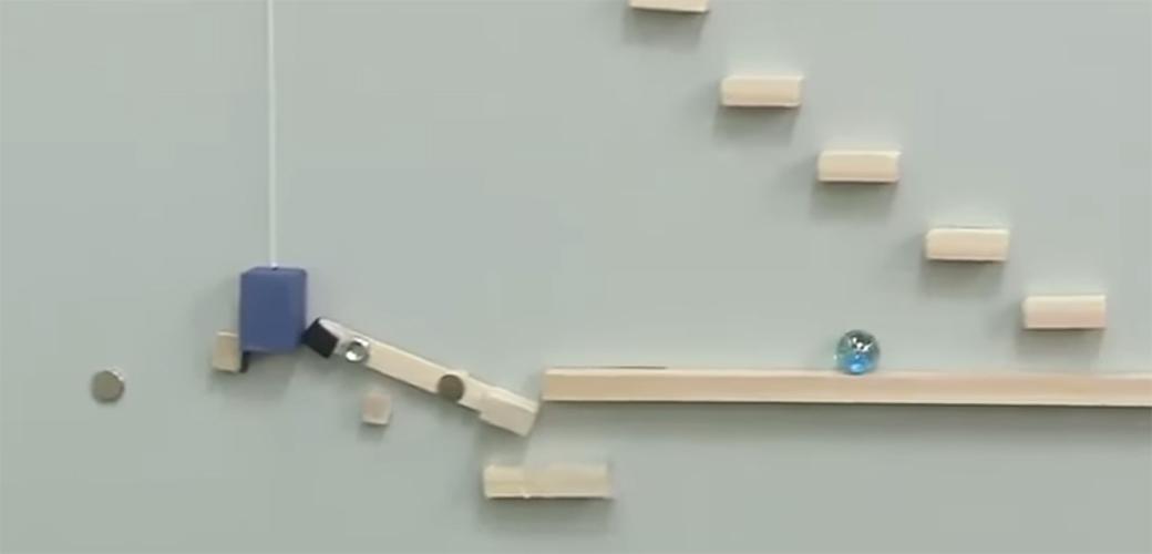 Slika: Japanska verzija Goldbergove mašine