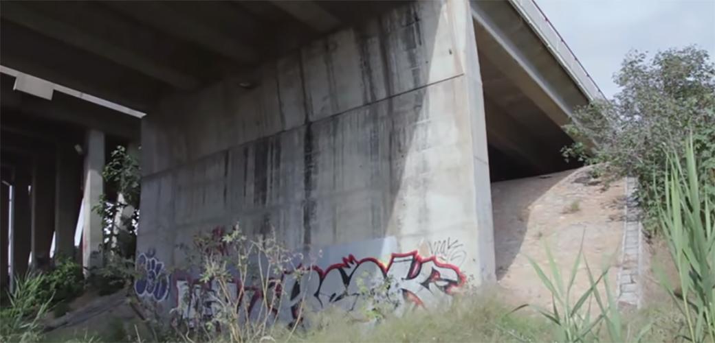 Slika: Tajni studio ispod mosta u Valensiji