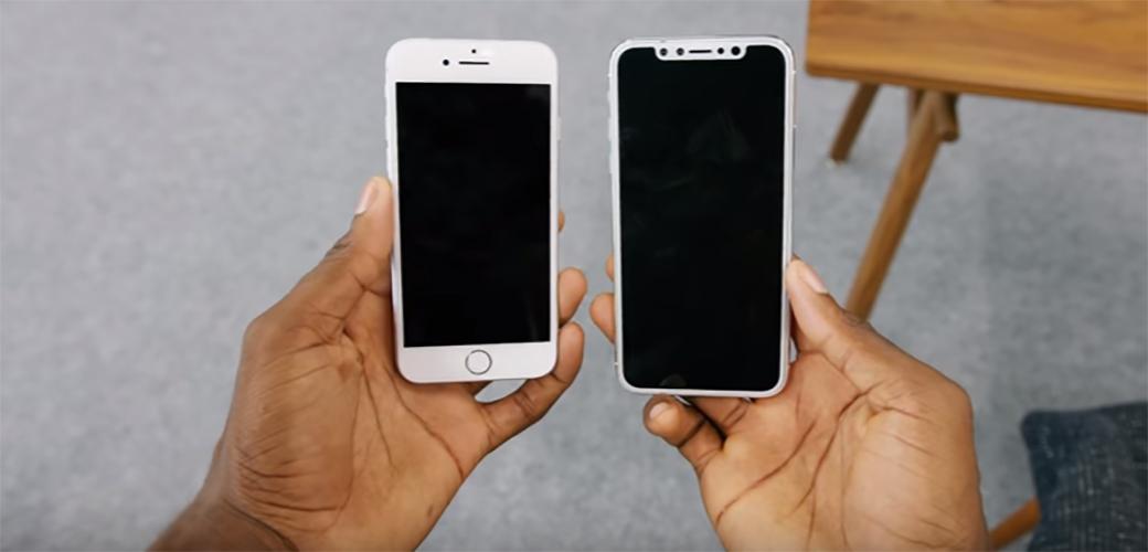 Slika: iPhone 8 će biti potpuno drugačiji