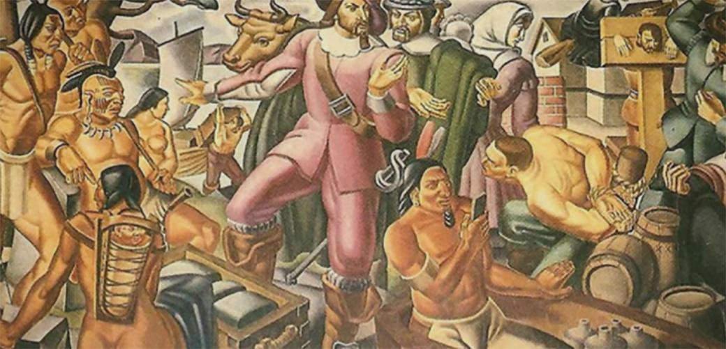 Slika: Šta to krije mural iz 1937 godine?