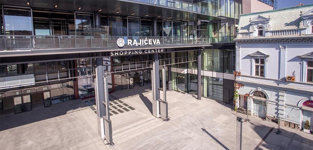Otvoren Rajićeva Shopping Centar