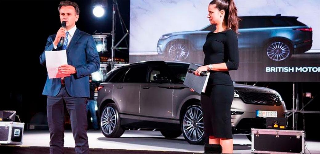 Range Rover Velar nakon svetske premijere svečano predstavljen i u Beogradu