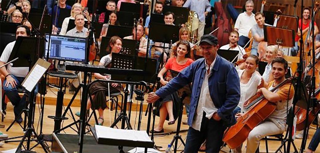 Slika: Ralph Phines u Beogradskoj filharmoniji