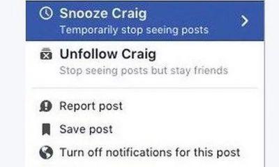 Facebook testira Snooze dugme  %Post Title